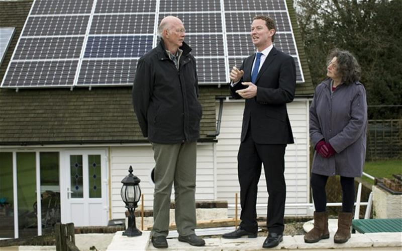 Solar panels better than a pension, says minister