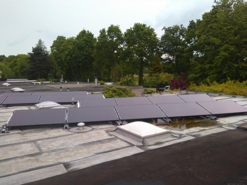 4 KW RESIDENTIAL PV SYSTEM IN  RODEN , 265W 8.33 SOLAR GALLIUM.